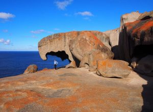 Bob at Remarkable Rocks