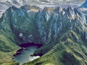 Lake Geeves, Hanging Lake and Federation Peak