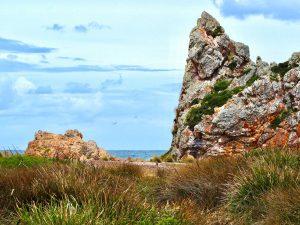 Church Rock on the Tarkine coast. Tasmania
